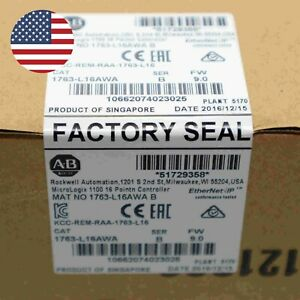 Factory Sealed Allen Bradley 1763 l16awa Micrologix 1100 16 Point Controller