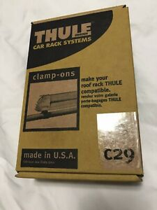 Thule C29 Clamp Ons Factory Rack Adapters Ski Snowboard Rack Adapter For Oem