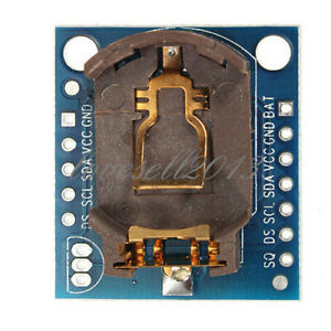 2pcs I2c Rtc Ds1307 At24c32 Real Time Clock Module For Avr Arm Pic Smd Arduino