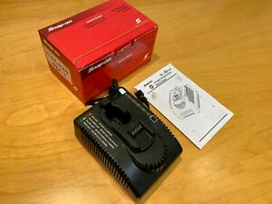 Snap on Battery Charger 120v In 9 6 18v Out Model Ctc420 New unused
