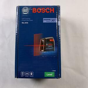 Bosch Self leveling Cross line Red beam High Power Laser Level Gll 30