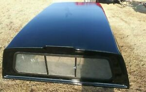 Ford F 250 F 350 Long Bed Topper Cap Canopy Black 100 Inches Long 69 Inches Wide