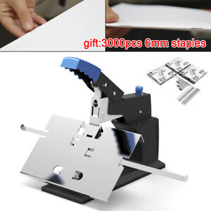Manual Desktop Stapler Saddle Riding Stapler Flat saddle Binding Machine 6 5mm