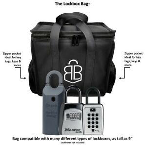 Realty Bags Lockbox supra Real Estate Bag