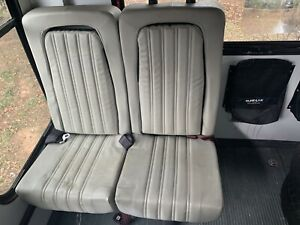 Ford E 450 Shuttle Bus Seats Integrated Car Seat