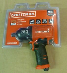 New Craftsman 1 2 In Air Impact Wrench 750 Ft Lbs Cmxptsg1003nb