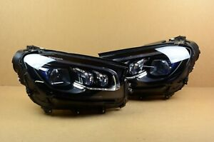 Great Complete 2020 Mercedes Gls Class Left Right Led Headlight Set Pair Oem