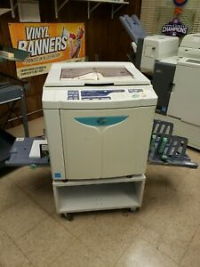 Riso Ez 391u High Speed Digital Duplicator Working And In Good Condition