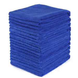 50x Microfibre Cleaning Auto Car Home Detailing Soft Cloths Wash Towel Duster