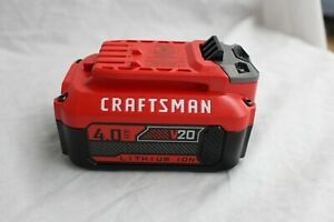 Craftsman 20v Battery 4 0 Ah Cmcb204 Lithium Ion Battery Pack