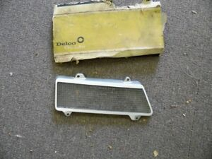 Nos Pontiac 1967 Grand Prix Parking Lamp Lens Driver Side 10