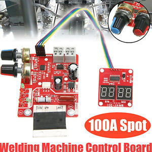 Spot Welder Time Control Board 100a Updating Current With Display