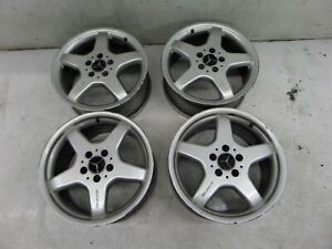 Mercedes Clk500 17 Amg Wheels A209 03 09 Oem A 170 401 2802