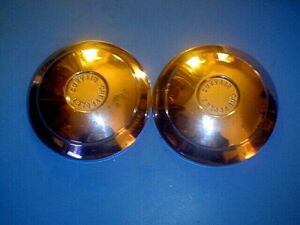 Two 1960 61 Chevrolet Corvair Hubcaps no Dents