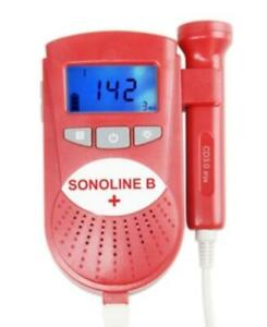 Sonoline B Plus Fetal Doppler With 3mhz Doppler Probe Baby Heart Rate Monitor