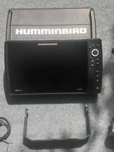 Humminbird 410030 1 HELIX 12 CHIRP SI GPS Factory AND 360⁰ Transducer amp; Shield