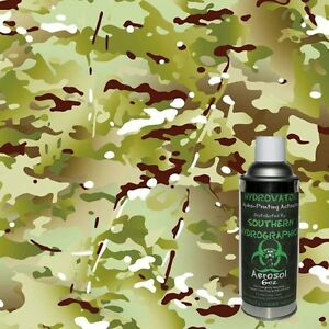 Hydrographic Film Water Transfer Hydro Dip 6oz Activator W Army Camo Kit