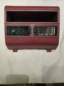 88 94 Chevy Gmc Suburban Silverado Tahoe Blazer Center Dash Bezel Vents Burgundy