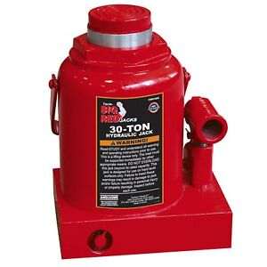 Hydraulic Bottle Jack 30 Ton 60 000 Lbs Capacity Lifting Range Of 9 45 14 5