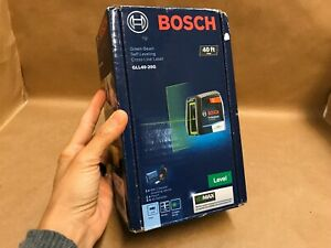 Bosch Gll40 20g Green beam Self leveling Cross line Laser