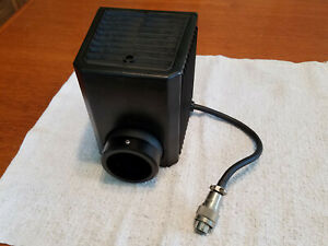 Nikon Te200 300 Microscope Lamp House And Socket 12v 100w D lh 3 Prong Connector