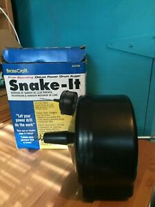 Brasscraft Snake it Free Standing Deluxe Power Drum Auger 1 4 X 20
