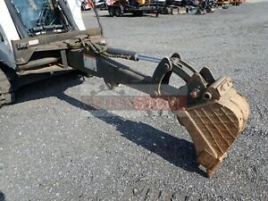 Bobcat Backhoe Attachment For Skid Steer Loaders Ssl Quick Attach Fits Many