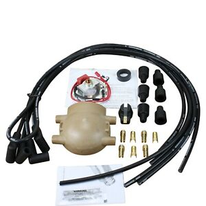 Electronic Ignition Conversion With Plug Wires For Ford Truck Tractor 2n 8n 9n