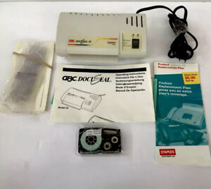 Gbc Docuseal 40 Home office 4 Card Laminator Machine