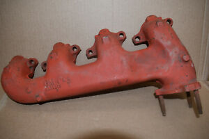 3914613 Big Block Chevy Exhaust Manifold Dated B 8 71 1968 70 Impala Ss Caprice