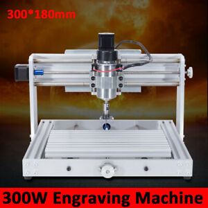 Professional 300w Cnc 3018 Router Kit 3 Axis Milling Engraving Machine