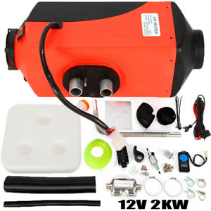 12v 2kw Air Diesel Fuel Heater W Switch Rc For Truck Boat Bus Car Motor Home Us