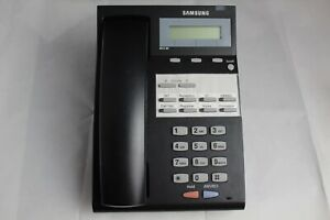 Lot 5 Samsung Falcon Idcs 8d Black Business Office Phones W Stands Handsets