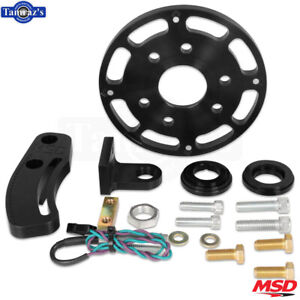 Msd Flying Magnet Crank Trigger Kit Fits Small Block Chevy Black
