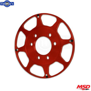 Msd Replacement Wheel Flying Magnet Crank Trigger Kit Fits Big Block Chevy Red