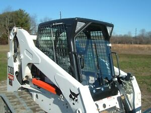 Bobcat G Series Acrylic Skid Steer Snow Plow Cab With Manual Wiper