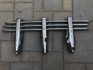 1930 40 s Accessory Tri bar Front Bumper Guard Assembly hot Rat Rod