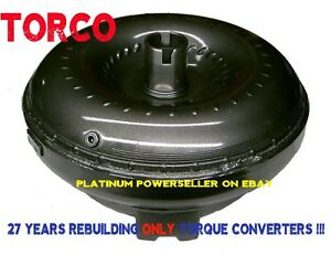 Mercedes Dodge Torque Converter 722 6 722 9 Transmission High Stall Heavy Duty