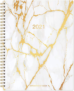 2021 Weekly Appointment Book Planner 2021 Daily Hourly Planner With Twin wir