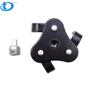 Oil Filter Wrench Auto Adjustable Universal 3 Jaw Remover Socket 1 2 3 8 Drive