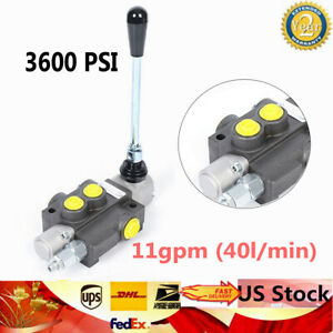 1spool Hydraulic Directional Control Valve Manual Operate 11gpm 3600psi Upgrade