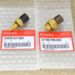 New Set Of Cooling Fan Switch Coolant Sensor Fit Honda Odyssey Accord Acura
