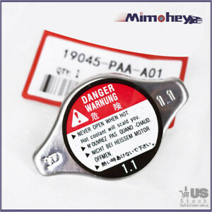 Cooling Radiator Cap 19045 Paa A01 Fit Honda Acura Cl Tl Accord Civic Size 1 1