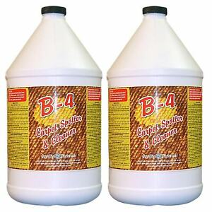 B 4 Commercial Carpet Spotter Cleaner And Stain Remover 2 Gallon Case