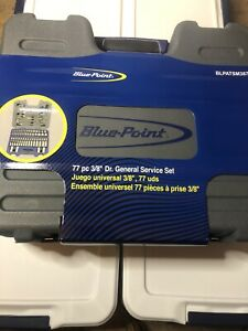 Blue Point 77pc 3 8 Socket Set As Sold By Snap On Us Shipping