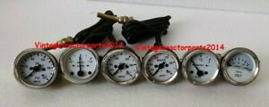 Smiths 52mm kit temp oil fuel oil Temp Gauge Volt amp Gauges replica