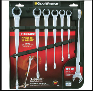 Gearwrench Xl X Beam Sae 7 Piece Wrench Set Gearwrench 44280