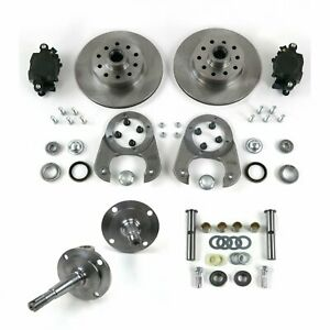 28 48 Early Ford Solid Axle Disc Brake Conversion 5x4 5 W Spindles Kingpin Ki