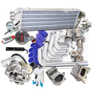 Turbo Kits Tb25 Bolt On Turbo Downpipe Manifold Kits For Honda Civic R18 Dx Ex