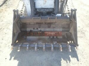 2001 Bobcat 60 Combo Bucket With Teeth For Skid Steer And Track Loader